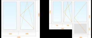vieno-kambario-buto-plastikiniai-langai